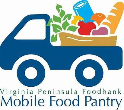 Pantry Mobile Bank Distribution Clipart Foodbank Programs
