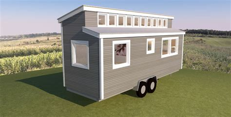 Shed Roof Tiny House Plans