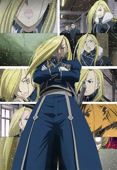 Armstrong Alchemist Fullmetal Olivier General Mira Brotherhood