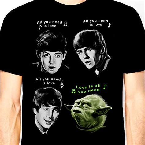 Beatles Yoda Meme - shirt yoda and the beatles abubot ph