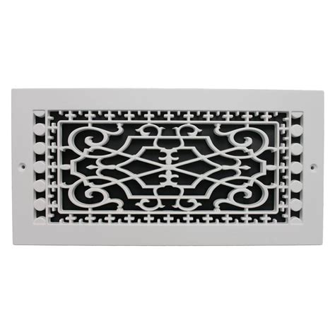 decorative wall air return grilles smi ventilation products wall mount 6 in x 14