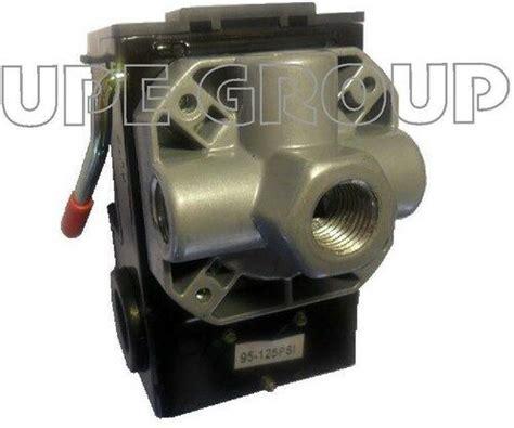 pressure switch air compressor 4x manifold 95 125 w on lever ebay