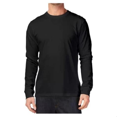jual kaos polos lengan panjang hitam di lapak adhera clothing kreasicetak