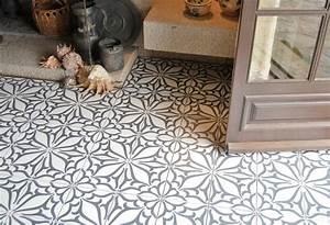 Papier Peint Vinyl Imitation Carrelage : carreaux ciment saint maclou awesome papier peint ~ Premium-room.com Idées de Décoration