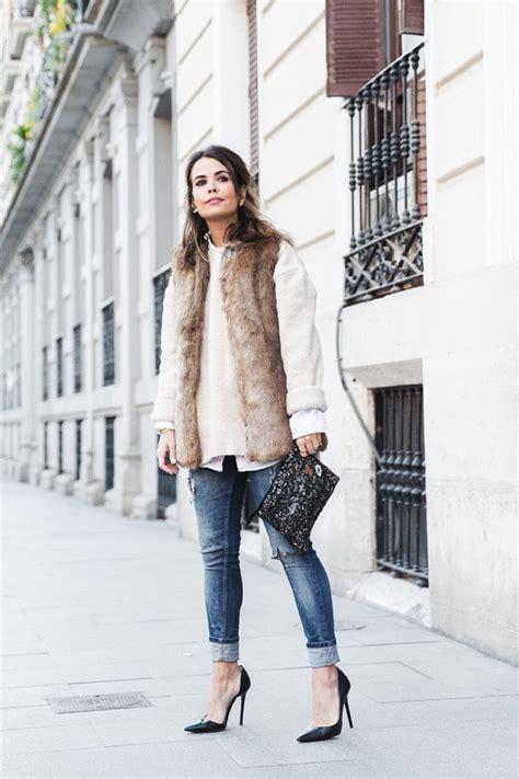 Fashionable Ways To Wear Fur Vest Glam Radar