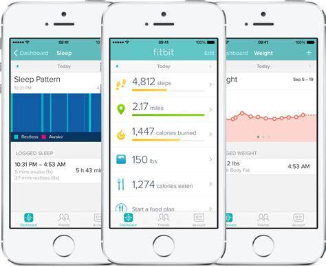 fitbit app for iphone app fitbit dispensa o uso de acess 243 rios e ganha