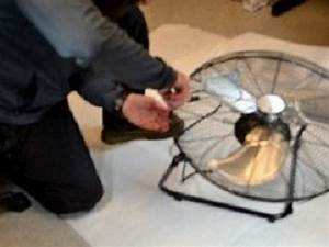 How To Replace The Fan Blade Assembly On The Utilitech Sfc