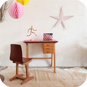Bureau Enfant Vintage : bureau vintage enfant ann es 50 ann es 60 atelier du petit parc ~ Teatrodelosmanantiales.com Idées de Décoration
