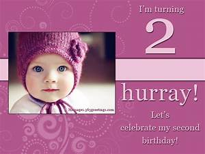 2nd Birthday Invitations And Wording - 365greetings.com