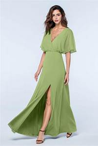 sage green bridesmaid dresses with sleeves budget With sage green dresses for wedding