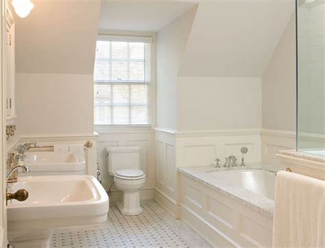 Bathroom Wainscotting by Bathroom Wainscoting What It Is And How To Use It Obsigen