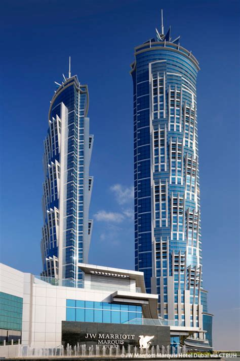 jw marriott marquis hotel dubai tower   skyscraper center