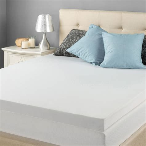 bed toppers walmart comfort rx 2 quot orthopedic foam mattress topper