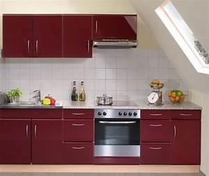 Hochglanz Küche Rot : k che rot ~ Sanjose-hotels-ca.com Haus und Dekorationen