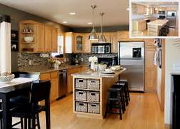 Painted Kitchen Cabinets Before And After Grey by Going Gray All Things G D