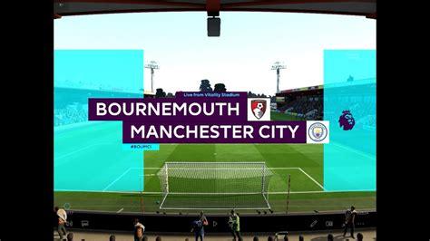 Premier League   Bournemouth vs Man City - YouTube