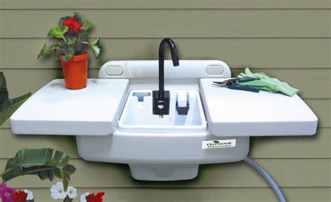 kitchen faucet 4 outdoor sink workstation