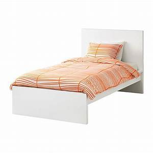 Lit 120x200 Ikea : malm bed frame high white lur y standard single ikea ~ Teatrodelosmanantiales.com Idées de Décoration