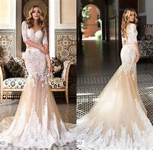 exquisite appliques lace mermaid wedding dresses 2017 v With dhgate wedding dresses 2017