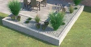 Steine Für Beeteinfassung : beeteinfassung terrassenumrandung setzen beete ~ Orissabook.com Haus und Dekorationen
