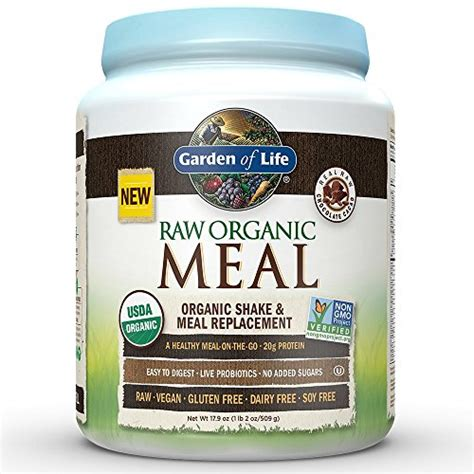 garden of protein powder garden of meal replacement organic plant based