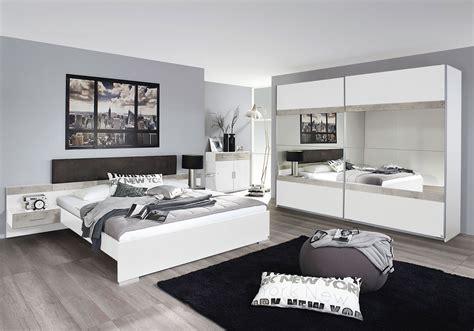 chevet chambre adulte lit adulte contemporain avec chevets suspendus blanc