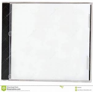 Blank CD Cover. stock photo. Image of case, loss, disk ...
