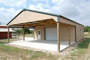Metal Buildings: Wood Frame Metal Buildings, wood frame