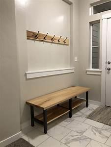 Custom, Entryway, Bench