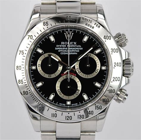 Pre-Owned Rolex Daytona 116520 Black Dial