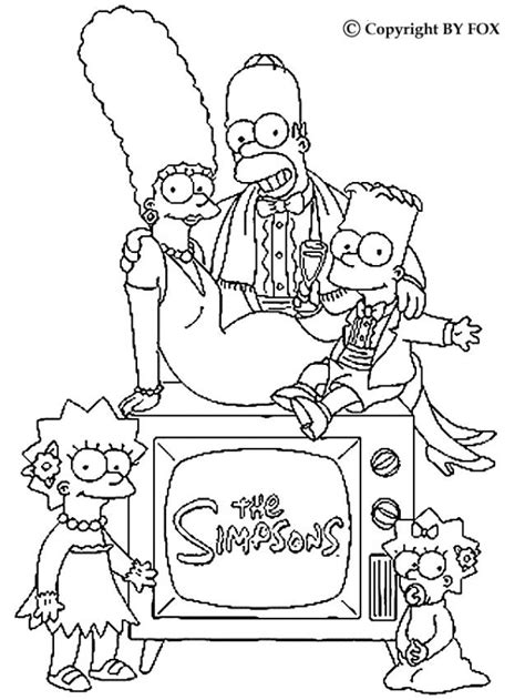 Adams Family Free Coloring Pages