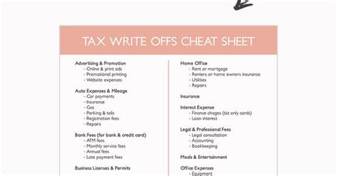 7 Insanely Awesome Writeoffs That Solopreneurs Need To Know  Tax Deductions And Business