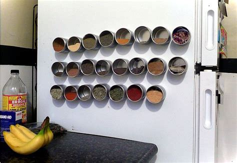 Magnetic Spice Rack For Refrigerator by 6 Kitchen And Pantry Ogranization Ideas Small House Decor