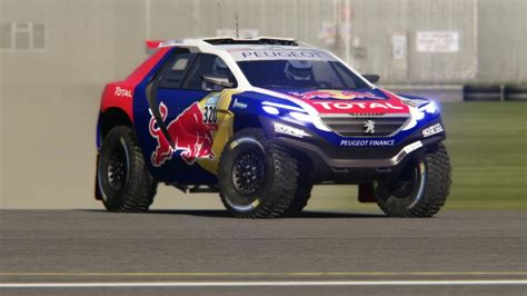 Peugeot 2008 T1 Dakar 2015 Top Gear Testing