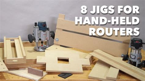 jigs  hand held routers woodworkers guild  america