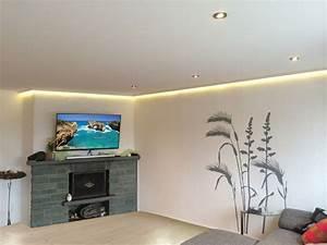 Led Lampen Decke Wohnzimmer : wohnzimmer decke gips led raum und m beldesign inspiration ~ Bigdaddyawards.com Haus und Dekorationen
