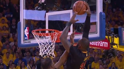lebron james dunks  kevin durant cavs  warriors nba