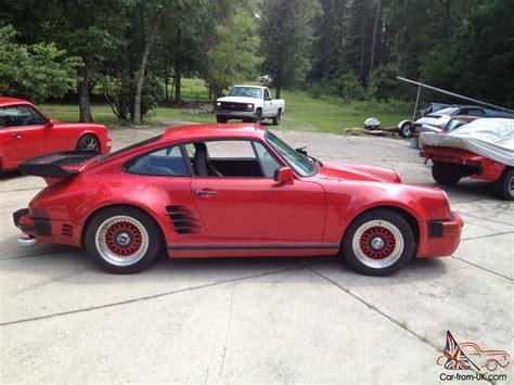 1984 Porsche 911 Turbo by 1984 Porsche 911 M491 Turbo Look