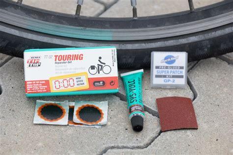 fahrrad test fahrrad flickzeug test selbstklebend klebstoff fahrrad flicken
