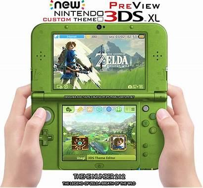 Theme Zelda Breath Wild 3ds Legend Custom
