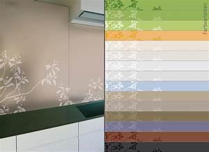 Wandbilder Küche Glas : designglas in der k che ~ Whattoseeinmadrid.com Haus und Dekorationen