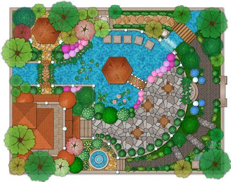 landscape design software draw landscape deck  patio