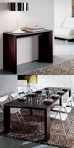 Meuble Cuisine Avec Table Escamotable : comment bien choisir un meuble gain de place en 50 photos ~ Melissatoandfro.com Idées de Décoration