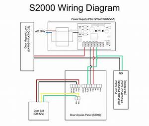 Door Access Control System Wiring Diagram Pdf Sample