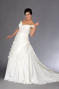 beautiful plus size wedding dress with a line sang maestro With a line wedding dresses plus size