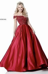 Top Prom Dress Designers Sherri Hill 51610 Long Ball Gowns Dress