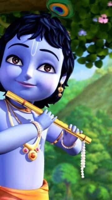 Lord Krishna Animated Wallpaper - 3d animated lord krishna wallpapers www imgkid the
