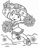 Strawberry Coloring Pages Shortcake Printable sketch template