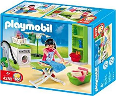 bureau playmobil amazon com playmobil laundry room toys