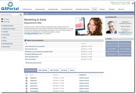 Sharepoint Portal Templates by Sharepoint Consultants For A Quickstart Portal